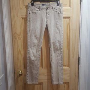 Hudson cream colored jeans